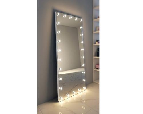 Гримерное зеркало с подсветкой в полный рост без рамы 180х80 см