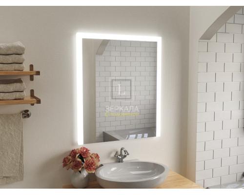 Зеркало в ванную комнату с подсветкой Серино